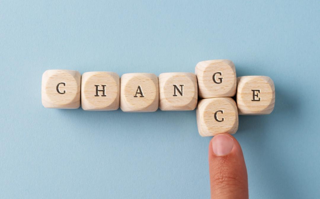 Veranker verandering